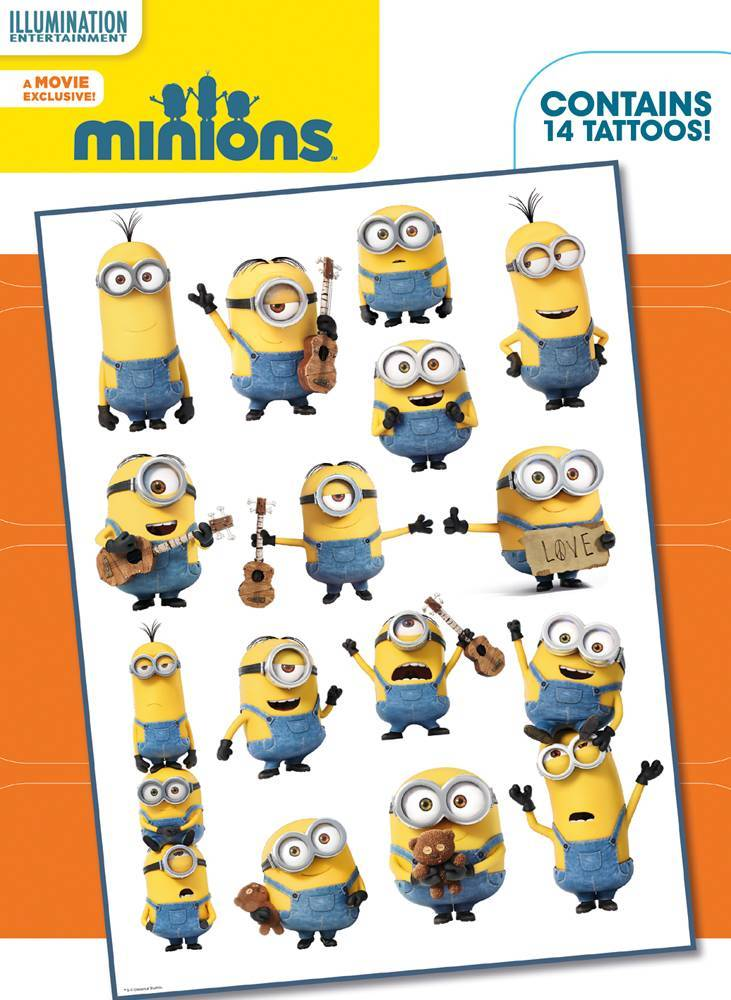 Minions Mix Tattoo Pack Review