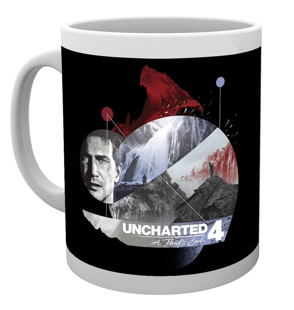 Uncharted 4 Mountain Mug