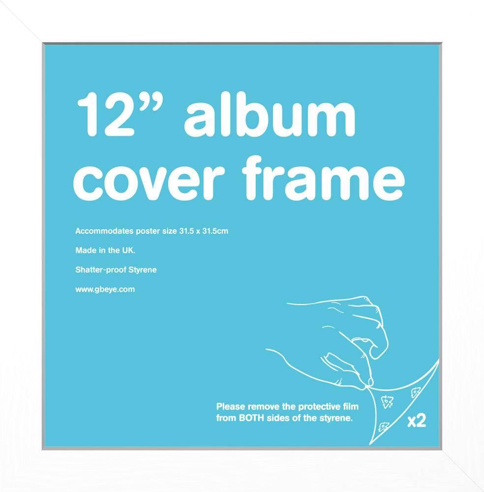 White 12 Record Sleeve Album Frame Calendars Store Uk