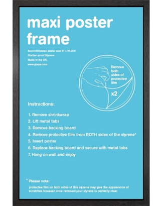 maxi poster frame
